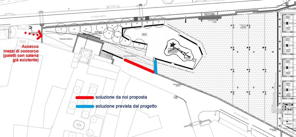 cartina modifica perimetro dissuasori