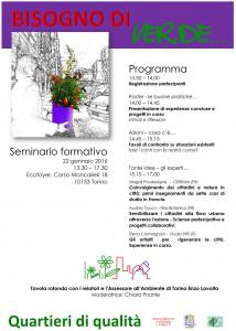 Quartieri di qualita 2016 - locandina programma